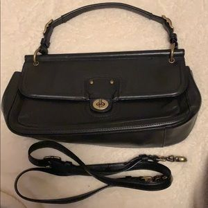 2012 Coach Black Leather  City Willis